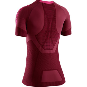 X-Bionic Invent 4.0 Run Speed T-shirt Femme, namib red/neon flamingo